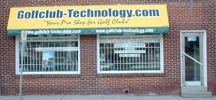 golfclub-technology storefront