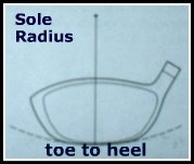 driver sole radius