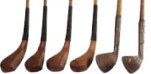 hickory shafted clubs